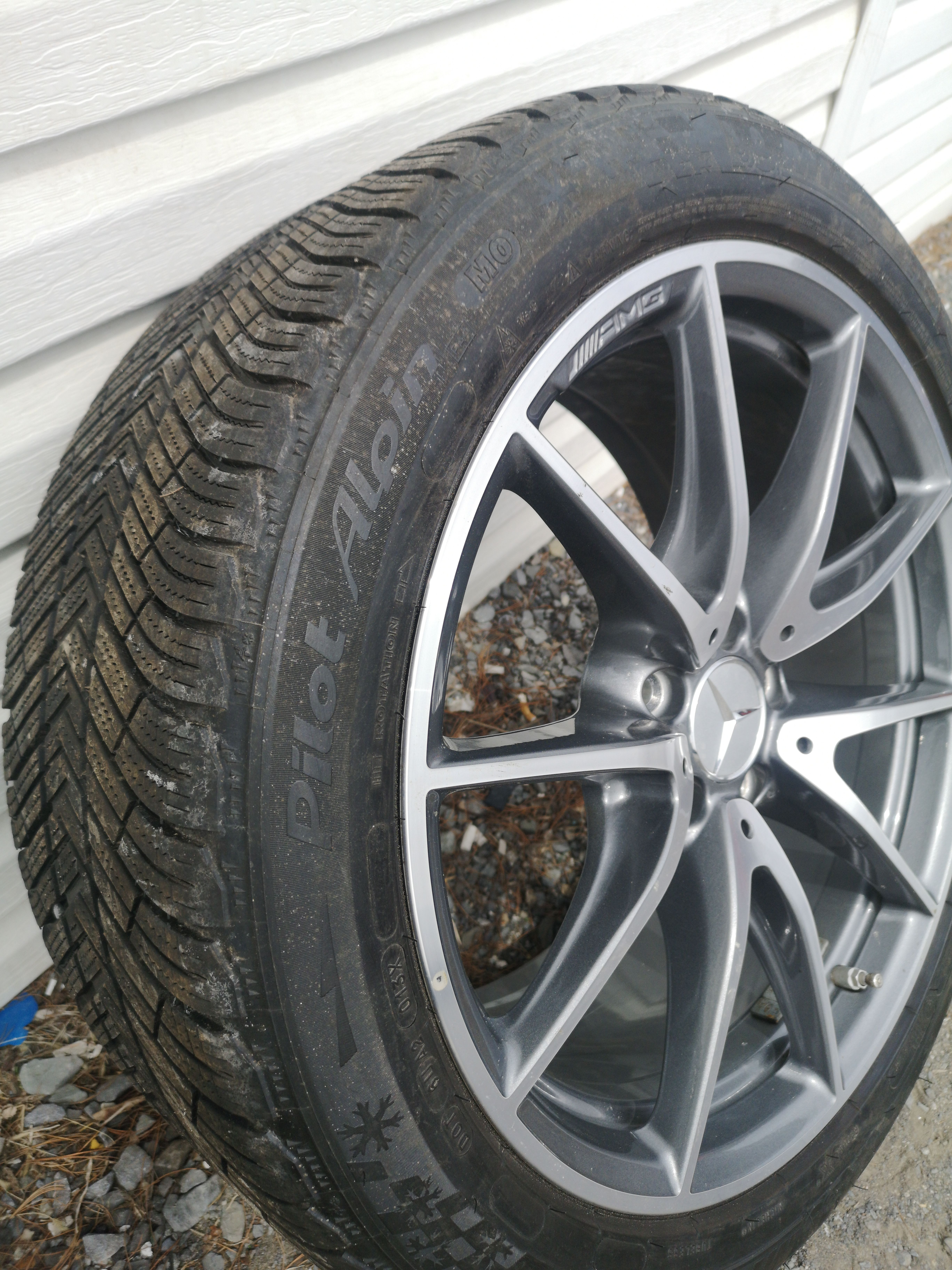 Michelin Pilot Alpin 265/40/18